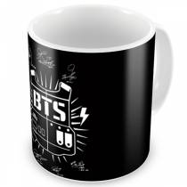 Caneca BTS - Logo Clássica Normal - K-Pop