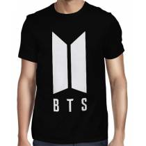 Camisa FULL BTS Logo Normal - Só Frente - K-Pop
