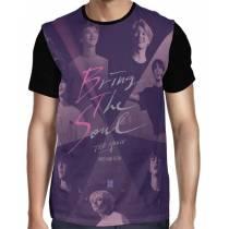 Camisa FULL BTS Movie - Bring The Soul - Só Frente - K-Pop