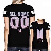Camisa Full PRINT BTS - Personalizada Modelo Especial - K-Pop