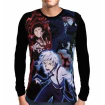Camisa Manga Longa Bungou Fight - Bungou Stray Dogs