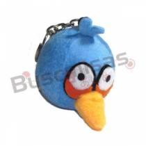 CHPL-02 - Chaveiro Pelucia Angry Bird - Azul
