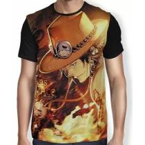 Camisa FULL Portgas D. Ace - One Piece