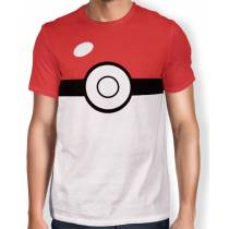 Camisa Full Print Pokebola - Pokémon