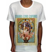 Camisa SB Bastão Sakura - Sakura Card Captors