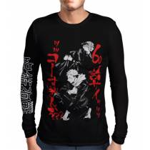 Camisa Manga Longa Jujutsu Kaisen - Exclusiva