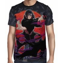 Camisa Naruto - Itachi Modelo 2- Color Print