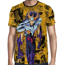 Camisa Full Color Ikki de Fênix - Saint Seiya