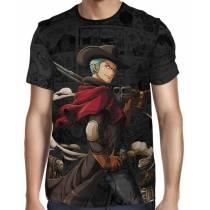 Camisa Dark Mangá Tony Zoro Modelo 03 - One Piece - Full Print