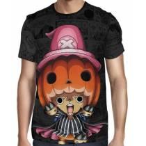 Camisa Dark Mangá Tony Chopper - One Piece - Full Print