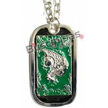 CDZ-10 - Colar Dog Tag Shun