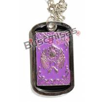 CDZ-13 - Colar Dog Tag Ikki - Cavaleiros do Zodiaco