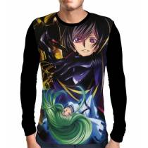 Camisa Manga Longa Lelouch Lamperouge CC - Code Geass