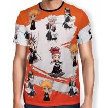 Camisa Full Print - Chibi Shinigamis - Bleach