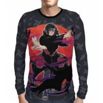 Camisa Manga Longa Naruto - Itachi Modelo 2 - Color Print
