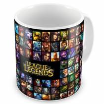 CNLOL-06- Caneca LOL Quadrados  - League Of Legends