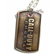 COD-02 - Colar Dog Tag Call of Duty