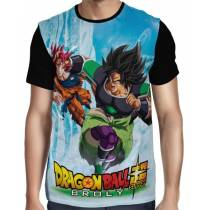 Camisa Full Broly Vs Goku - Dragon Ball Super
