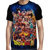 Camisa Full Goku Evolution - Dragon Ball Super