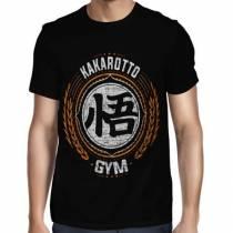 Camisa Full Goku - Kakarotto Gym - Só Frente - Dragon Ball