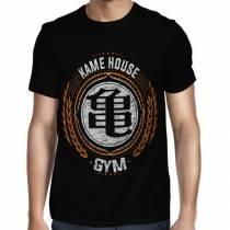 Camisa Full Kame House Gym - Só Frente - Dragon Ball