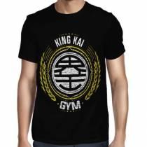 Camisa Full Kaio - King Kai Gym - Só Frente - Dragon Ball