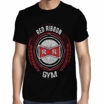 Camisa Full Red Ribbon Gym - Só Frente - Dragon Ball