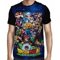 Camisa Full Fight Forms - Dragon Ball Super