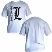 Camisa Death Note - L - Modelo 07