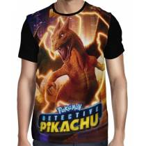 Camisa Full Charizard - Pokemon Detetive Pikachu