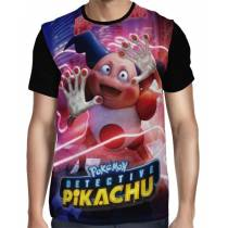Camisa Full Mr Mime - Pokemon Detetive Pikachu