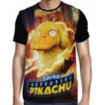 Camisa Full Psyduck - Pokemon Detetive Pikachu