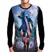 Camisa Manga Longa Devil May Cry 5