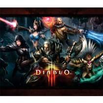 Mouse Pad - Diablo 3 Poster