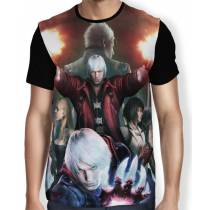 Camisa Full Devil May Cry 4