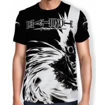 Camisa Full Print - Ryuk Preto - Death Note