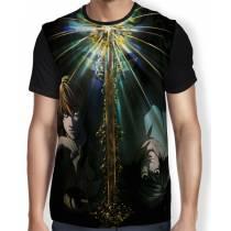 Camisa FULL Kira e L - Death Note