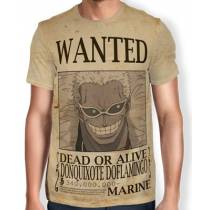 Camisa Full Print Wanted DONQUIXOTE DOFLAMINGO - One Piece