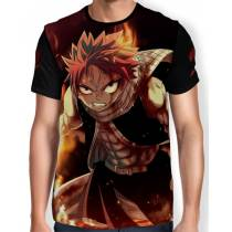 Camisa Full Print - Fairy tail