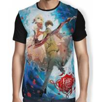 Camisa FULL Hakuno e Saber Fate Extra - Fate Stay Night