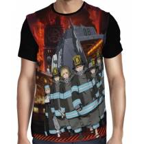 Camisa FULL Fire Force - Enen No Shouboutai - Modelo 1