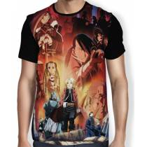 Camisa FULL Good Bad Guys - Fullmetal Alchemist