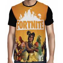 Camisa FULL Season 8 Modelo 2 - Fortnite