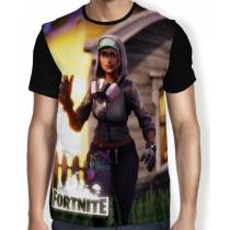 Camisa FULL Print Teknique Battle Royale - Fortnite