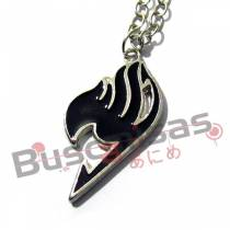 FT-49 - Colar Simbolo Fairy Tail Preto