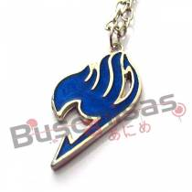 FT-50 - Colar Símbolo Fairy Tail Azul