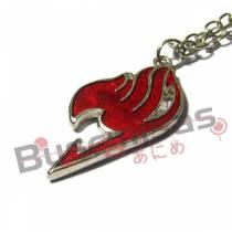 FT-51 - Colar Simbolo Fairy Tail  Vermelho
