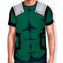 Camisa Full Print Uniforme - Deku Midoria - Boku no Hero