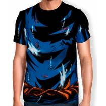 Camisa Full Print Uniforme - Goku Ultra Instinto - Dragon ball