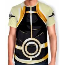 Camisa Full Print Uniforme - Naruto Modo Kurama Biju